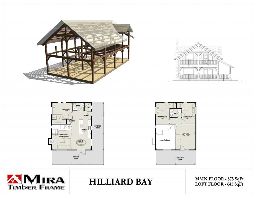 Hilliard Bay Cottage Plan