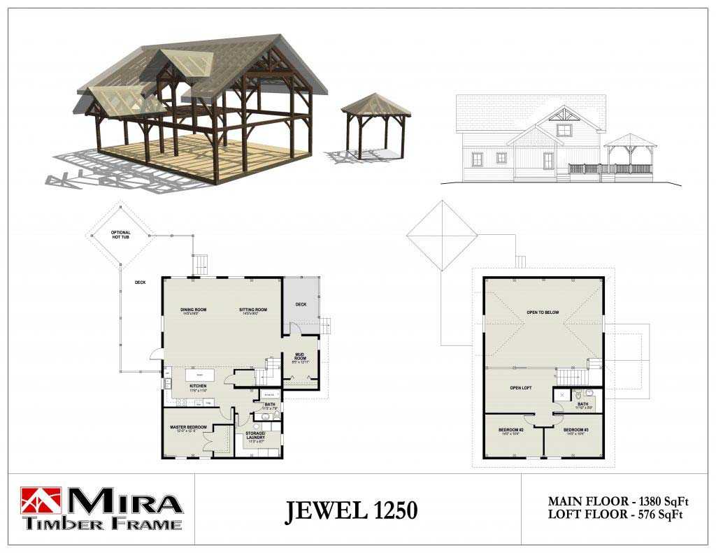 Jewel 1250 floor plan