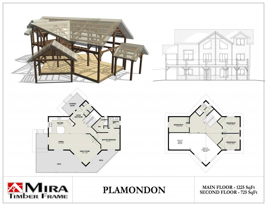 Plamondon Cottage Plan